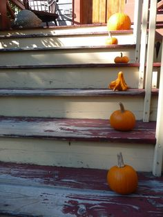 .Pumpkins! Agassiz neighborhood steps