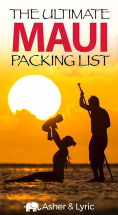 17 Top Maui Packing List Items + What to Wear & NOT to Bring. We often get asked what to wear in Maui, what to pack, and what NOT to bring, so we've made this page to help you out! We also answer Maui FAQs. Trip To Maui, Hawaii Vacation, Maui Hawaii, Oahu, Beach Vacations, Family Vacations, Vacation Spots, Maui Travel, Travel Destinations