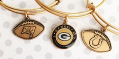 ALEX AND ANI NFL Collection | New York Giants Charm bangle | Tampa Bay Buccaneers Charm bangle |