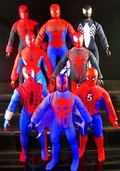 various spidey customs