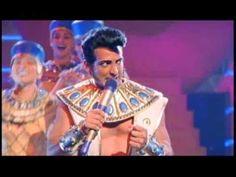 This is the Song of the King (Seven Fat Cows) from the movie version of Joseph and the Amazing Technicolor Dreamcoat. Written by Andrew Lloyd Webber and Tim Rice. Starring Donny Osmond and Maria Friedman. This is Robert Torti starring as the Pharaoh aka Elvis Presley. If you have seen the live version, mainly the version that featured Donny Osmo...