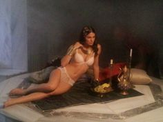 Miss Claire Lingerie 2013 Shooting Backstage