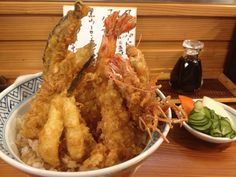 天丼ーTendon Meat, Chicken, Food, Essen, Meals, Yemek, Eten, Cubs