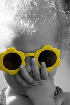 Touch of Color - Child - Yellow Sun Glasses