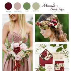 These earthly tones are taking over 2015 color palette. Check out what we think about these color tones on #woodsyweddings #marsala #weddings #weddinginspiration #2015