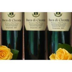 """€ 19,00 a bottiglia """"Azienda Agricola Petricci e Del Pianta"""" BUCA DI CLEONTE 2007 - Val di Cornia Suvereto DOC in confezione da 6 bottiglie. Disponibile anche in confezione da 3 bottiglie."""