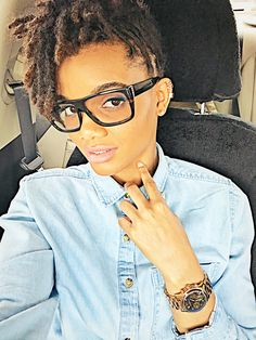 Locs ~ Teen Stage Locs ~ Pinned updo