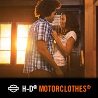 Shed your inhibitions with new summer apparel from the H-D(r) MotorClothes(r) Black Label Collection.