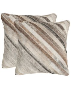 Cherilyn Set of Two Cowhide Pillows is on Rue. Shop it now.