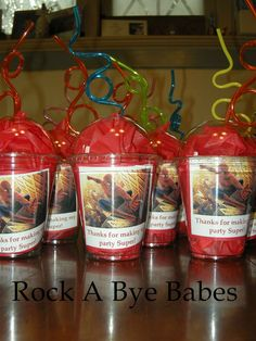 Spider Man Birthday party favors party planning boys any colors any theme custom via Etsy