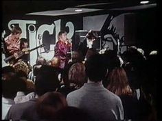 """The Yardbirds """"Stroll On"""" (with both Jimmy Page and Jeff Beck)  live club scene from movie """"Blow-Up"""""""