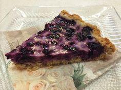 Liian hyvää: Kaurainen mustikkapiirakka (myös gluteeniton) Pie, Desserts, Food, Pie And Tart, Pastel, Deserts, Fruit Cakes, Pies, Dessert