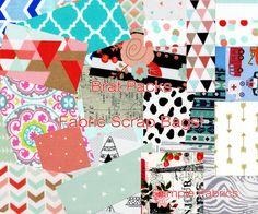 FabricBrat Fabric Scrap Pack Bundles Fabric Grab by FabricBrat