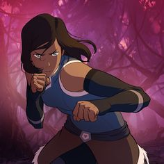 Korra book 4. Season 3 sucked, but episode 1 of book 4 made up for the whole last season. So excited for episode 2!