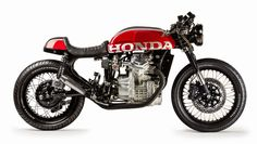 """Honda CX 500 RR """"Cafe Racer"""" by Mike Meyers."""