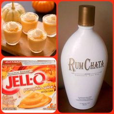 Rumchata Pumpkin Pie Pudding Shots