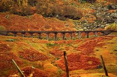 Glen Ogle Viaduct, Scotland.