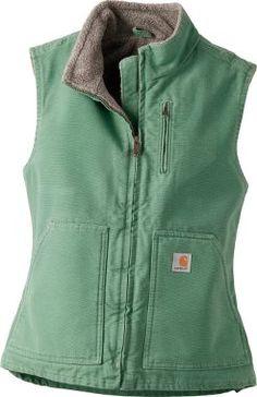 Cabela's: Carhartt® Women's Sandstone Mock-Neck Vest