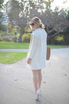 Winter Whites - I need a white coat for winter!