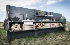 Stunning Dutch Designed outdoor kitchens
