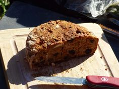 """Camp Cooking: Bread with Fruits - G2-5"""" Folding Firebox Stove with Dutch..."""