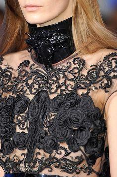 Achados........dali e daqui  Black lace