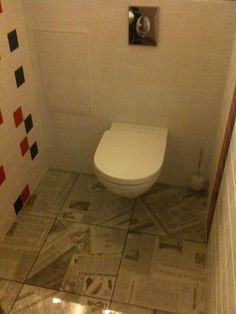 Newspaper tile