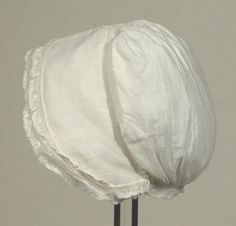 National Trust Collections  Cap, c. 1800-1820  Snowshill Wade Costume Collection, Gloucestershire