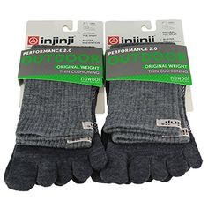 Injinji Unisex Outdoor Original Weight Thin Cushioning Crew Nuwool Toesocks B ** You can find more details by visiting the image link. (This is an affiliate link) Slouchy Tee, Athletic Socks, Coupon Holder, Running Man, T Shirts For Women, Clothes For Women, Hoodies, Sweatshirts, Hoodie