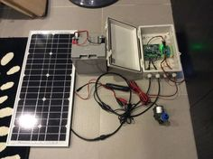 Intelligent Solar Power System for supporting Hydroponics and Aquaponics systems of Greenamic