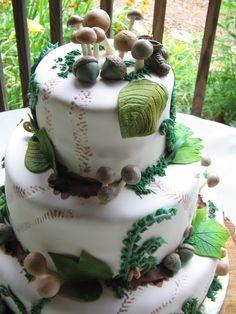 Woodland Cake by EB Cakes