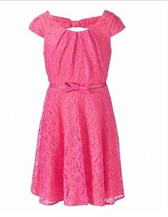 a one beuty dress color pink,so cute...