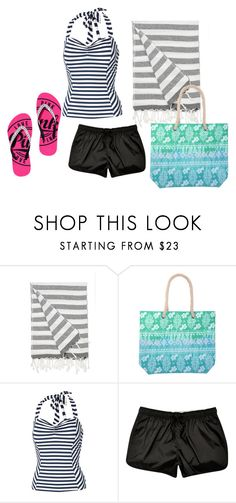 """""""A Trip To The Beach!"""" by kaitlyns0512 on Polyvore featuring IGH, Fat Face, women's clothing, women, female, woman, misses and juniors"""