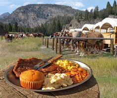 Reserve your space and join us for Old West Dinner Cookout in Yellowstone National Park. Feast on cowboy grub while enjoying tall tales.
