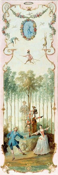 Удри, Жан-Батист (1686 Париж - 1755 Бове)  --  Танец. часть 4 Лувр