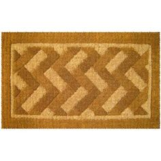 "Diagonal Bricks Design Thick Coir Doormat by Coco Mats N More. $42.98. Heavy Duty 1.5"" thick coco doormats. Beautiful and Modern Design Coir Doormat. Hand Woven in India 100% natural coir. Durable and Easy to Maintain. Made with fade resistant dyes. Diagonal Bricks  design coco coir braided edge eco-friendly doormats made from 100% natural premium coir fiber."