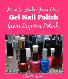 Use to Make Gel Polish!