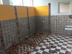 ... Donkere Badkamers op Pinterest - Badkamer, Badkamer Kasten en Tegel