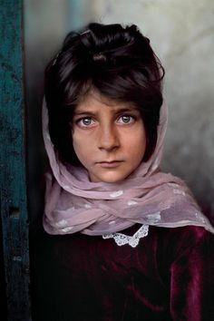 Young Afghani Steve McCurry