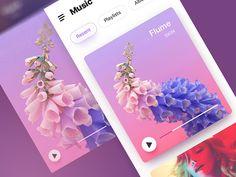 Music by Masonya #Design Popular #Dribbble #shots