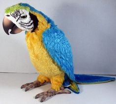 Squawkers McCaw Fur Real Friends BIRD ONLY Tested as Working Batteries Included #Hasbro