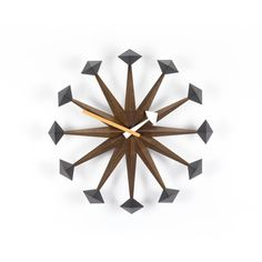 Nelson Polygon Clock...is this GORGEOUS??? Wow. Love it.