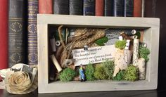 Anne of Avonlea Shadowbox / Small Nature Quote Shadowbox