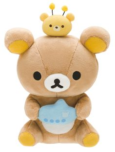 Rilakkuma store limited Korilakkuma and new friends caravan stuffed toy Kawaii Plush, Kawaii Cute, Softies, Plushies, Rilakkuma Plushie, Bee Photo, Honey Bear, Polymer Clay Animals, Polymer Clay Miniatures