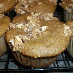 Cranberry Applesauce Muffins Recipe