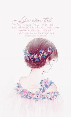 Lúc còn trẻ chúng ta từ bỏ cho rằng đó chỉ là một cuộc tình nhưng cuối cùng mới biết đó thực ra là cả cuộc đời  ● Nguồn: Hẹn đẹp như mơ - Phỉ Ngã Tư Tồn ● Design: #Nana