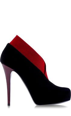 Christian Louboutin ~ Black & Red Shoes