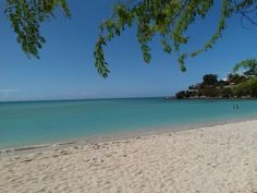 Beautiful beaches of Puerto Rico ... Playa Santa, located in Guánica, P.R