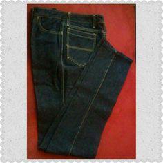 Selling this NWOT Men's dark wash 100% cotton denim jeans in my Poshmark closet! My username is: wonderhr. #shopmycloset #poshmark #fashion #shopping #style #forsale #Maurice Sasson #Other