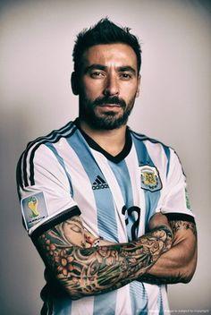 Nueva Camiseta de LAVEZZI del Argentina Primera 2014 2015